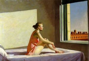 Edward Hopper, Morning Sun, 1952