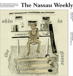 Lizzie Buehler for the Nassau Weekly